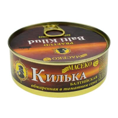 Килька балтийская обжаренная в томатном соусе
