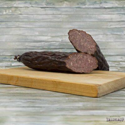 Колбаса из лосятины