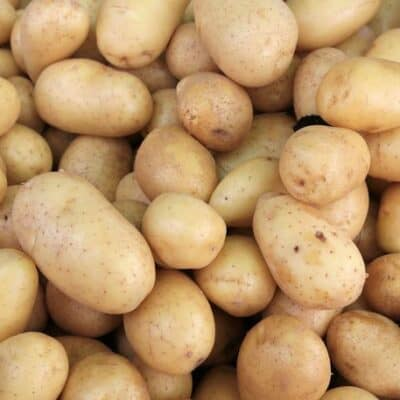 Свежий картофель